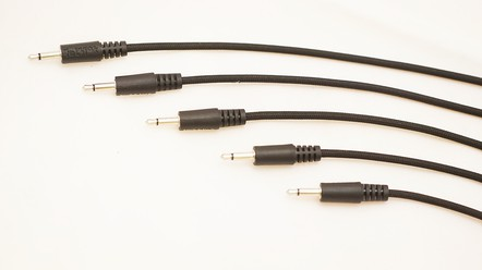Photo of cloth cover modular cables